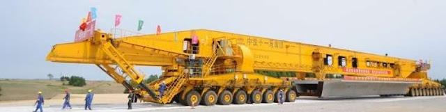Mesin SLJ900/32 di Jalan Membawa Girder