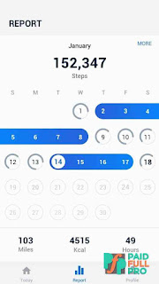 Pedometer Step Counter And Calorie Burner Unlocked APK