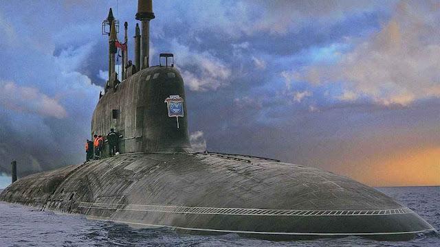 Novo submarino de ataque russo, classe Yasen (Graney class para a OTAN).