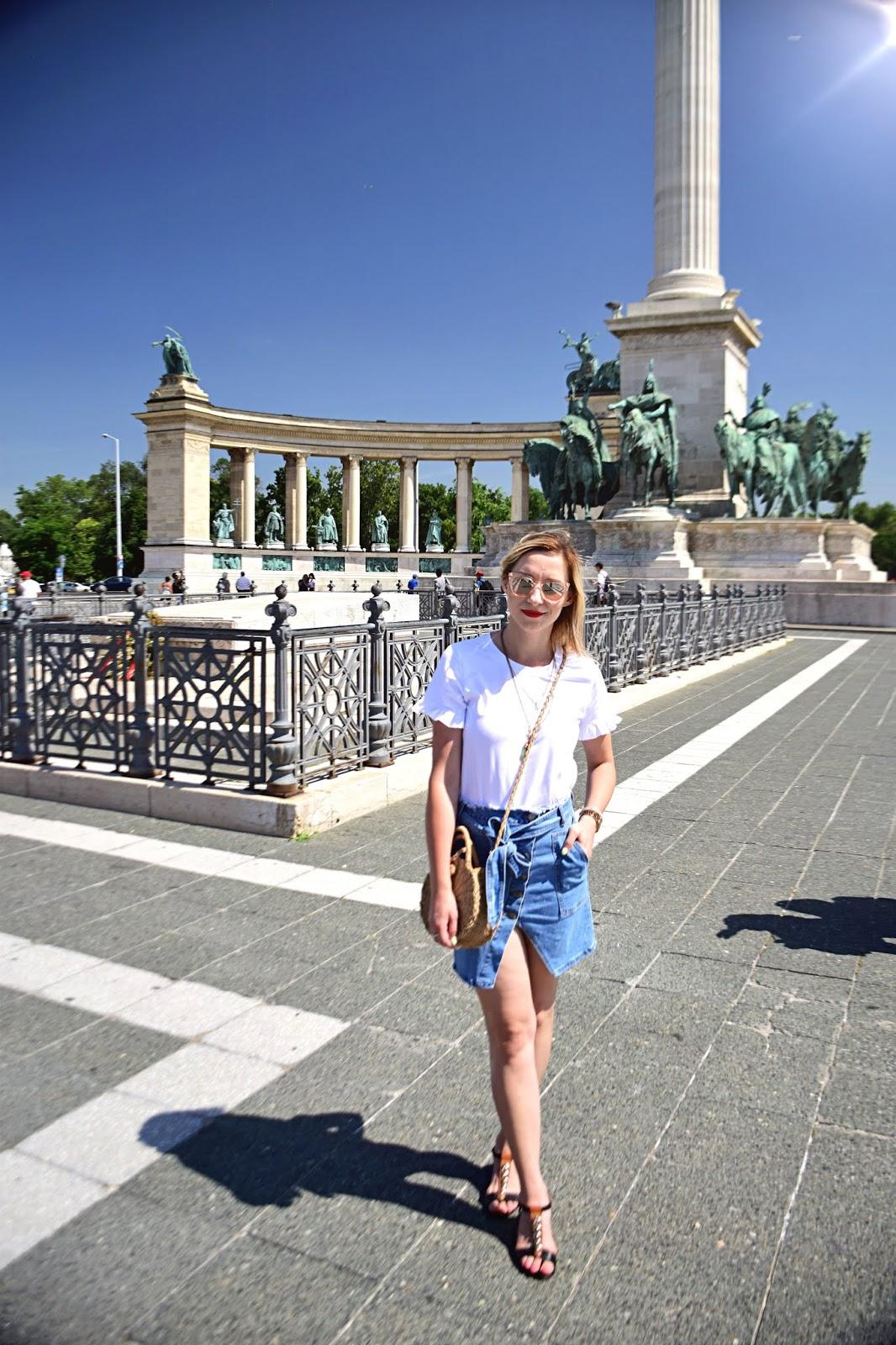 oryginalna_jeansowa_spódnica_guziki_renee
