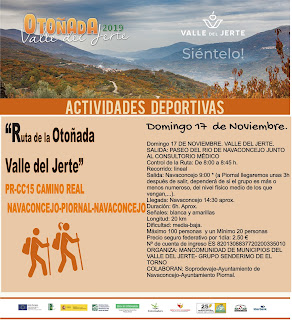 Marcha de senderismo de la Otoñada 2019