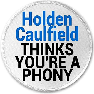 The Catcher in the Rye - Holden Caulfield thinks you're a phony #quote
