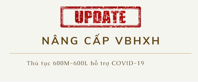 Cập nhật phần mềm VBHXH có tờ khai 600M và 600L