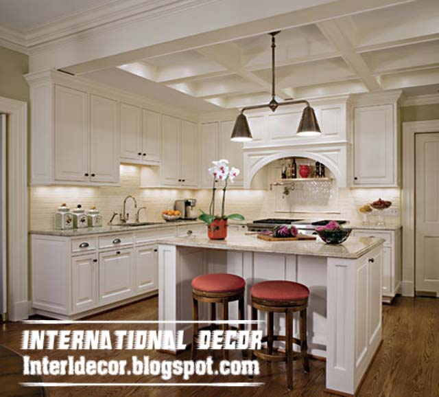 Coffered Ceiling Design For Kitchens Plaster