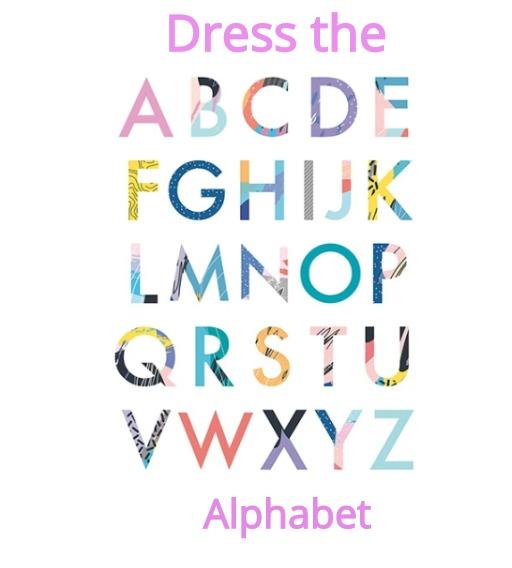 Dress the alphabet challenge