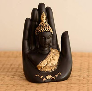Living room table decor ideas Buddha
