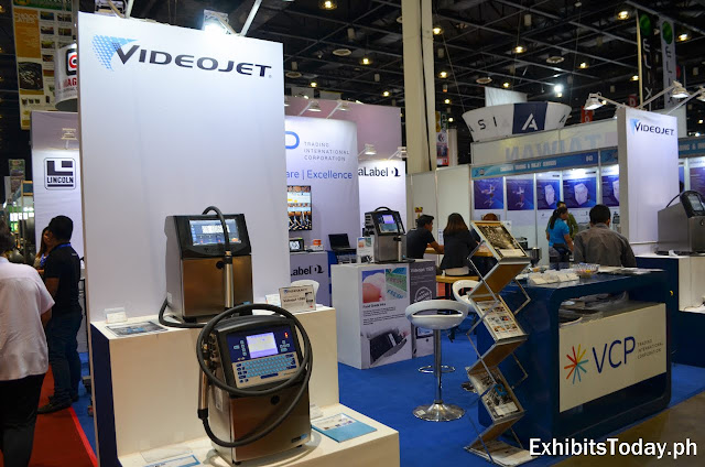 VCP Videojet Exhibit Booth