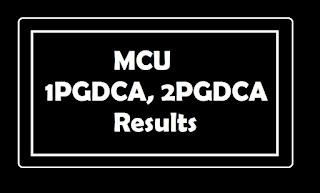 MCU 1PGDCA, 2PGDCA Results