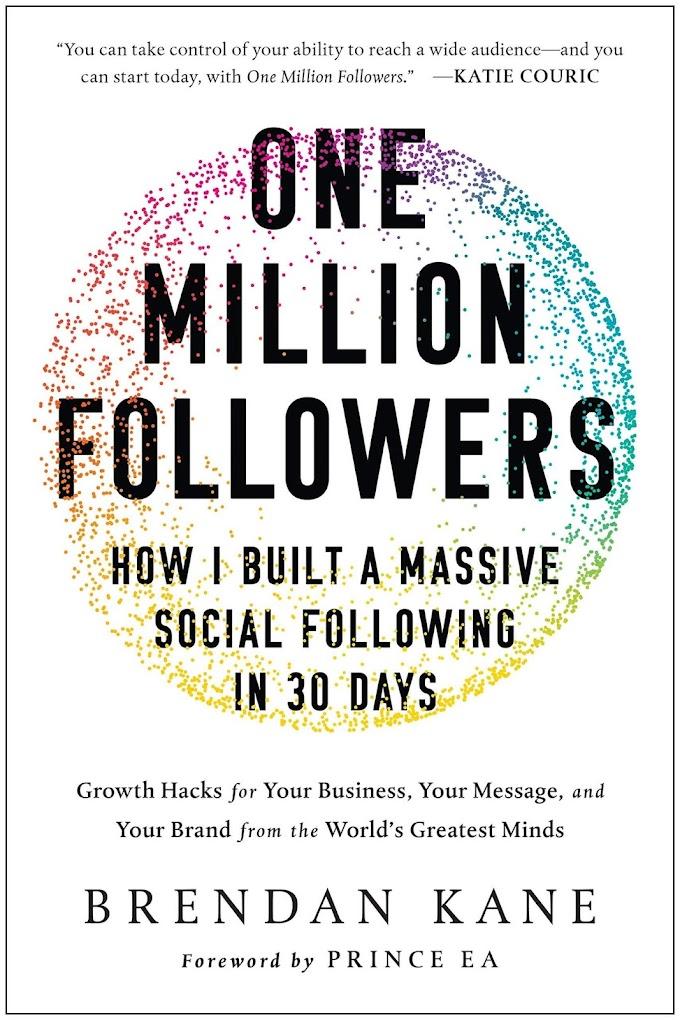 One Million Followers by Brendan Kane Ebook Download