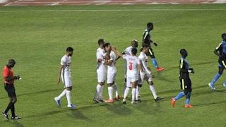 ملخص واهداف مباراة الزمالك وتونجيث (4-1) دوري ابطال افريقيا