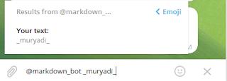 markdown bot telegram
