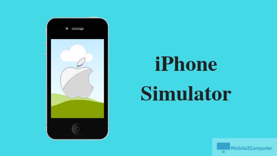 iPhone Simulator , Emulate iPhone on Windows Computer