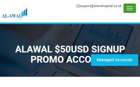 Bonus Forex Tanpa Deposit Al-Awal $50