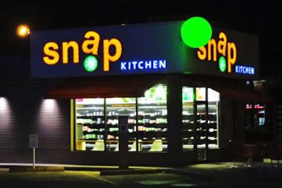snap kitchen neon signage (erstwhile Greenbriar - Farnham location)