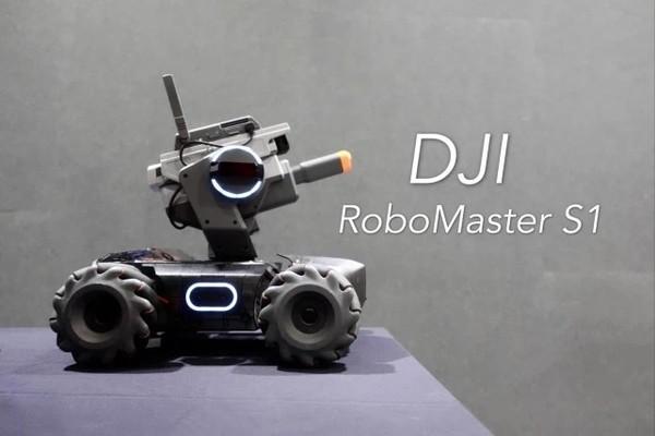 شركة DJI الصينية تطلق RoboMaster S1