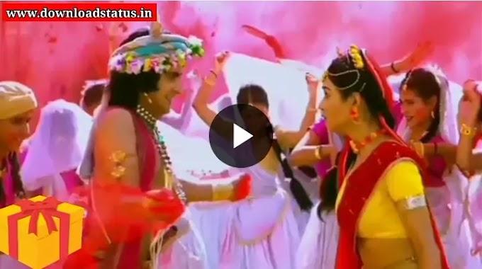 Happy Holi Radha Krishna Whatsapp Status Video Song Download New