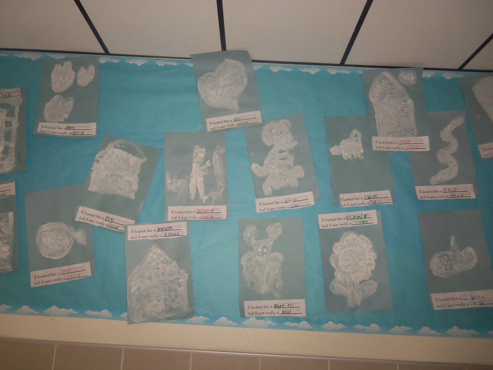 Mrs Wood S Kindergarten Class Clouds