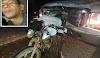 Motociclista morre após colisão e é arrastado por 300 metros pelo caminhão em Luís Correia-PI