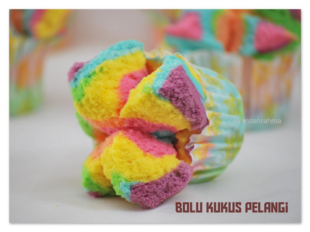 Resep Bolu Jadul Ny Liem: Cerita Indah ...: Bolu Kukus Pelangi
