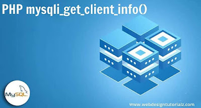 PHP mysqli_get_client_info() Function