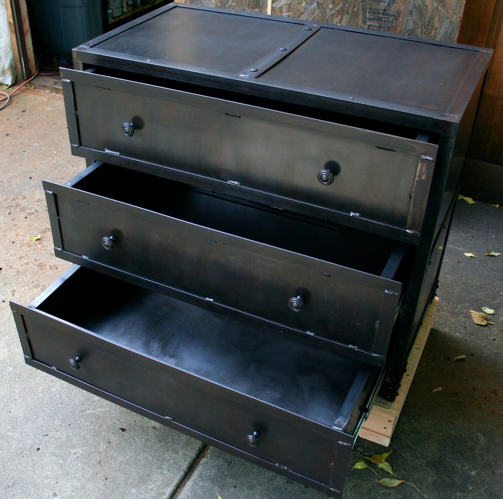 Real Industrial Edge Furniture Llc: Industrial Metal Chest