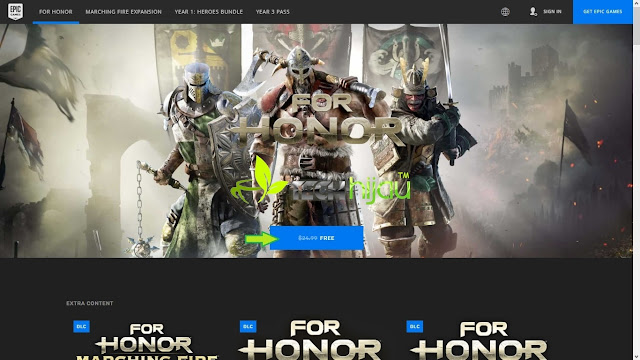 For Honor Halaman giveaway - Tech Hijau™