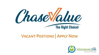 Chase Value Jobs In Pakistan May 2021 Latest | Apply Now