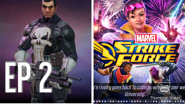 Let's Play Marvel Strike Force 2021 [EP 2] WIPED OUT BY HAND