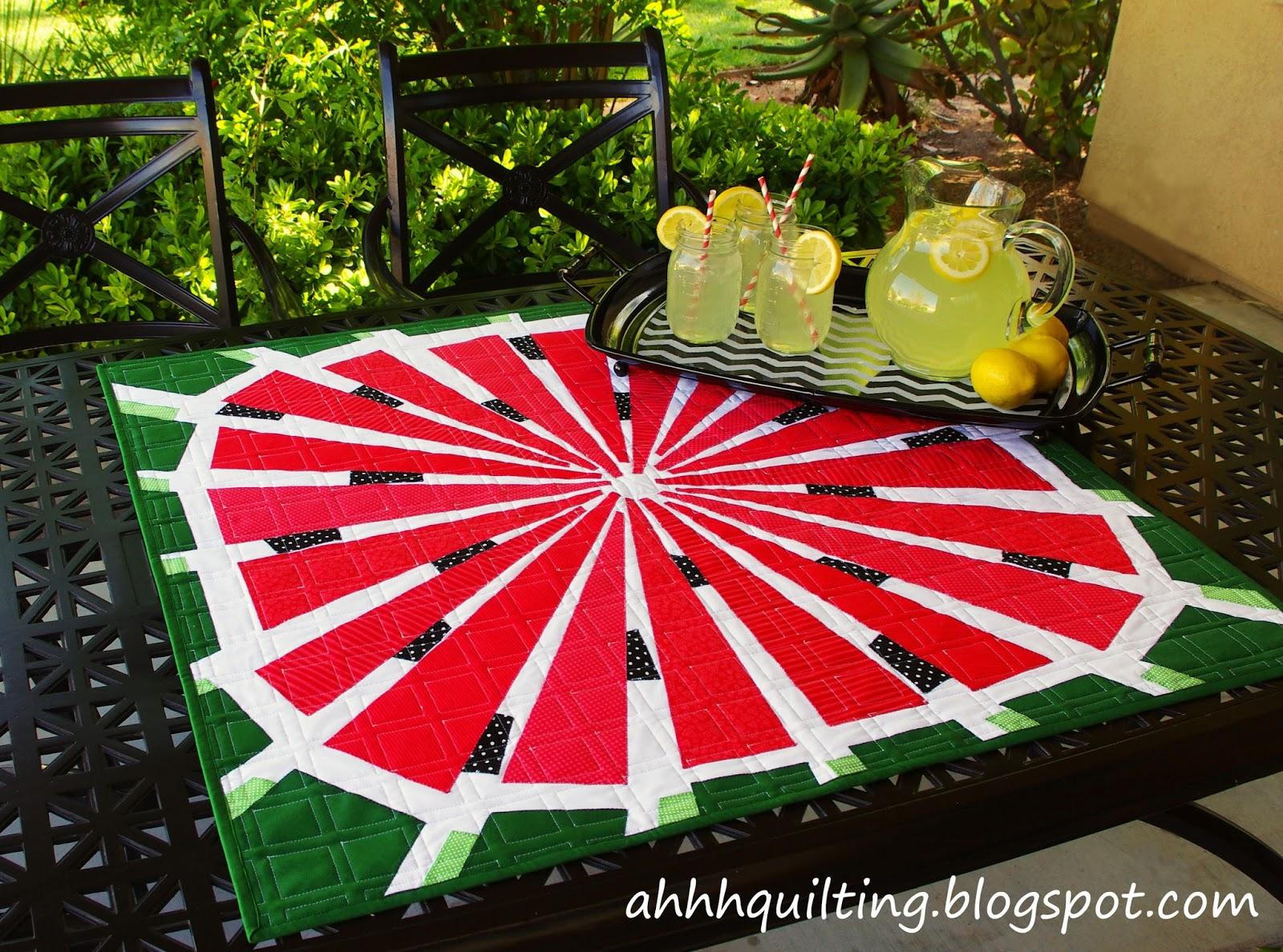 Ahhh...Quilting: Little Watermelon Quilt : watermelon quilt - Adamdwight.com