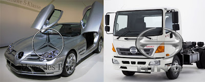 Mercedes Benz OH-1526 VS Hino RK8 R260
