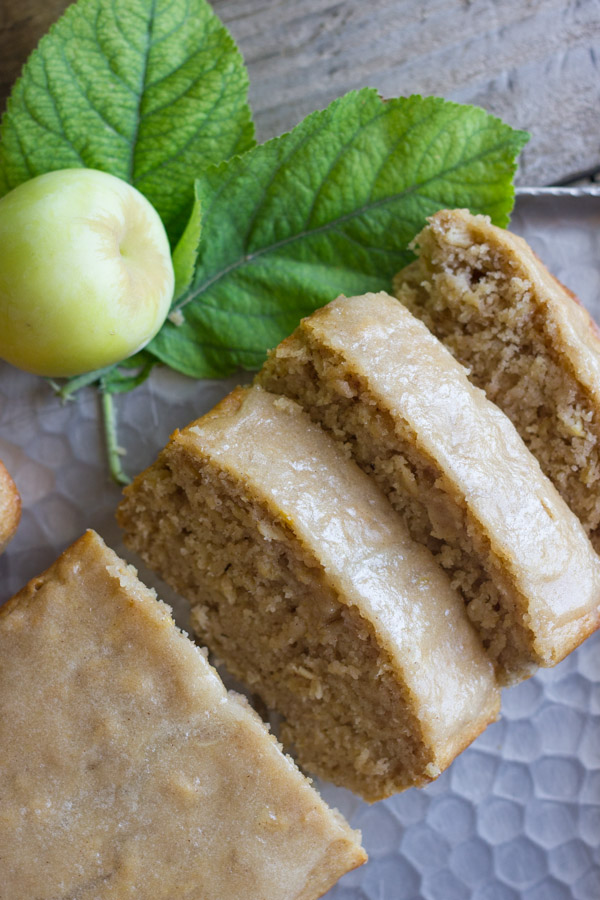 Soft and moist, and bursting with apple flavo