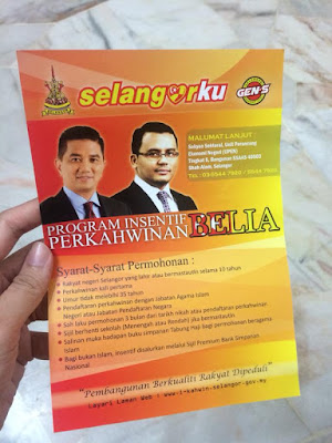 Insentif Perkahwinan Belia Selangor