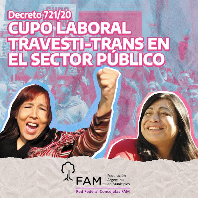 Flyer para la Red Federal de Concejalas