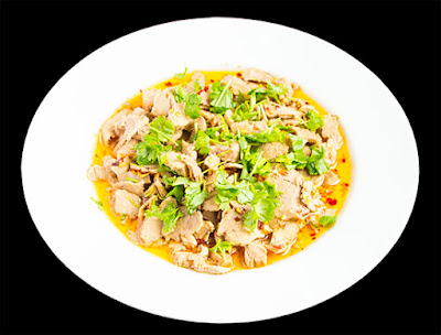 Chinese food - Thin pork slice salad