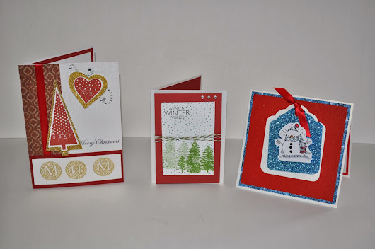 Here Are Some Of My New Christmas Card Designs.