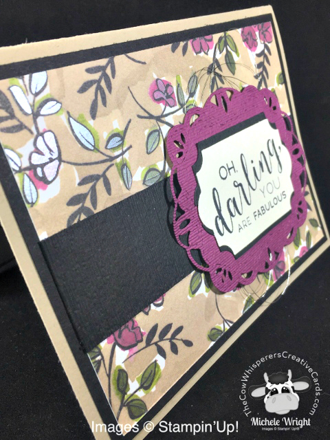 Card, Stitched All Around, Stitched Label Dies, Share What You Love