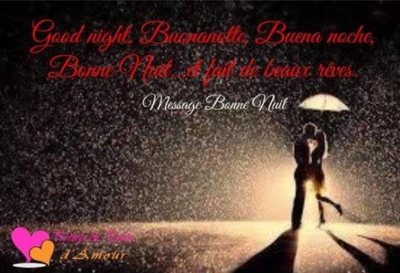 Texte d'amour pour souhaiter bonne nuit