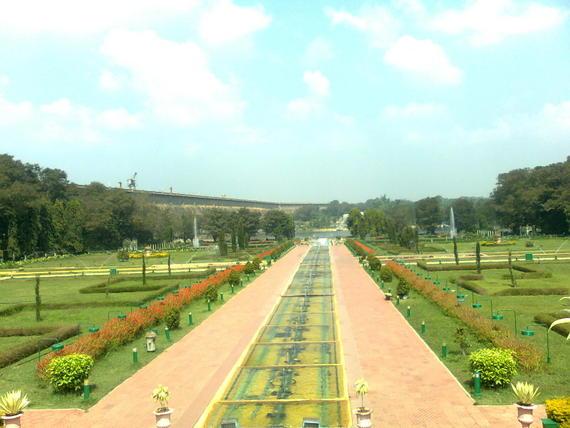 KRS Dam View Msore Tour
