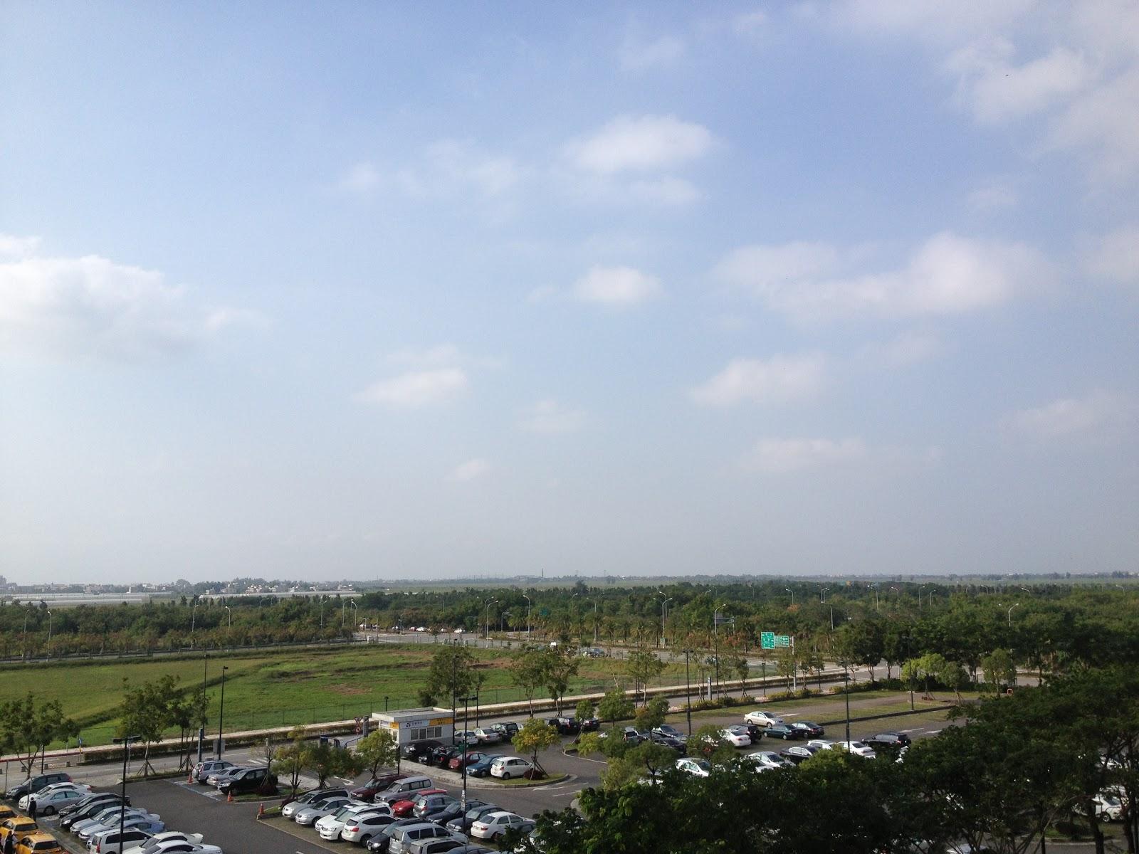 高鐵嘉義站からの風景