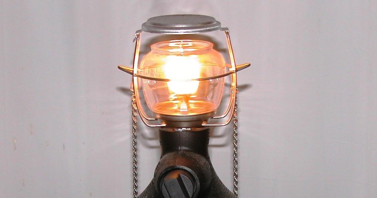 Living Prepared    : Propane Lantern Test
