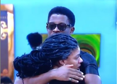 #BBNaija: Seyi Console Crying Venita After Her Team Lost