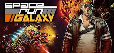 صورة  لتجربة العبة الحرب في الفضاء Space Run Galaxy في جهاز الحاسوب