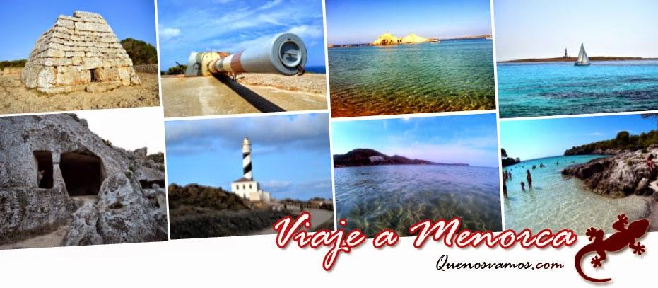 Experiencia viaje a Menorca