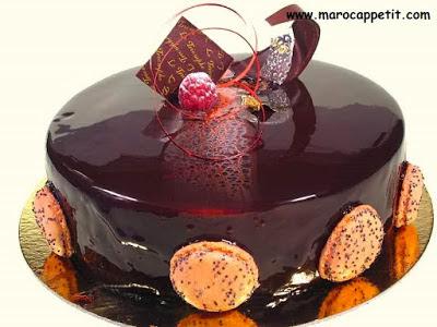 Recette de gâteau miroir au chocolat | Chocolate cake mirror recipe