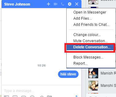 How to Delete Messages from Facebook | Delete All Facebook Messages