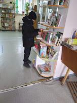Мальчик выбирает книги фото