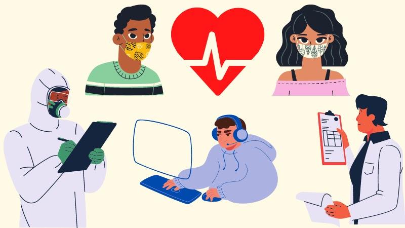 التعلم الطبي سلامة المريض التكنولوجيا في الرعاية الصحية مشاركة المريض خبرة المريض فيروس كورونا الرعاية الصحية عن بعد طرق الرعاية الصحية وسائل الرعاية الصحية أنواع الرعاية الصحية خدمات الرعاية الصحية
