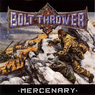 """Ο δίσκος των Bolt Thrower """"Mercenary"""""""