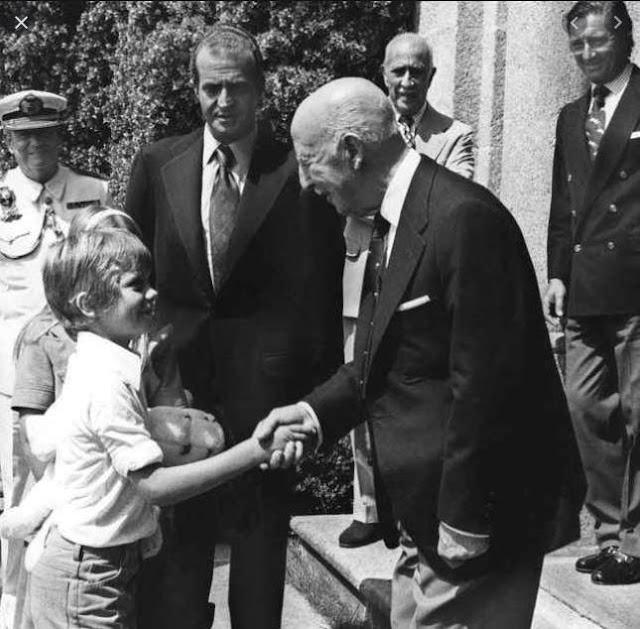 Francisco Franco y Felipe VI