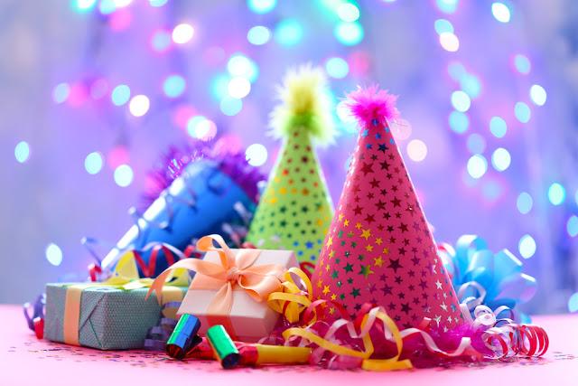 feestartikelen, tafellakens, papier, feesthoedjes, attributen, GV Center Verpakkingen